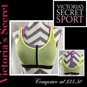 🍃🖤 New Victoria Secret Angel Fitted Sports Bra